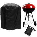 Bermud Barbecue Barbecue au Cover Cloche, 77 * 58 cm 210D Oxford tissu imperméable pour BBQ Barbecue Weber, Brinkmann, Char Broil, Holland, etc Barbecue boule G TOP 3 image 0 produit