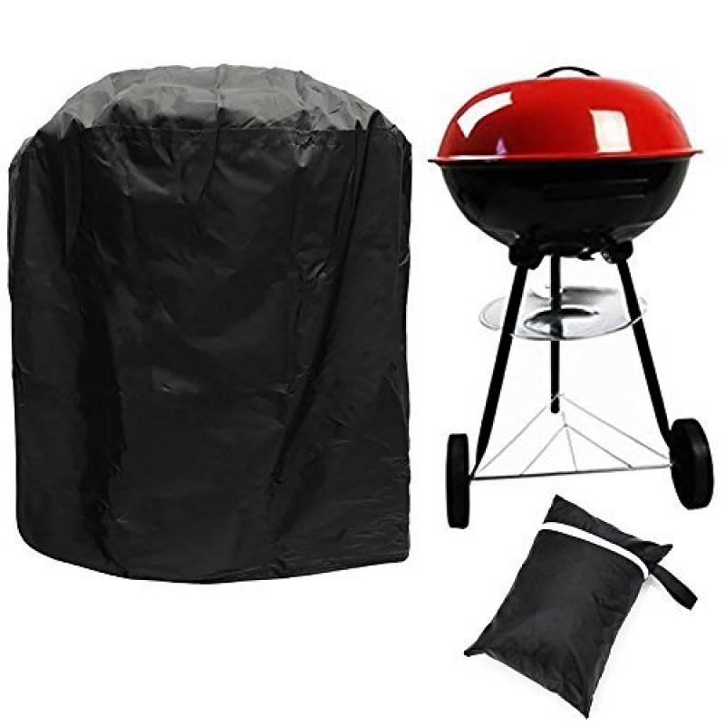 Bermud Barbecue Barbecue au Cover Cloche, 77* 58cm 210D Oxford tissu imperméable pour BBQ Barbecue Weber, Brinkmann, Char Broil, Holland, etc Barbecue boule G TOP 3 image 0 produit