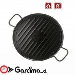 Garcima 11036 Émaillé Ronde grill-Plancha 36 cm de la marque Garcima TOP 9 image 0 produit