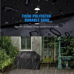Housse Barbecue HOMASY Housse Bâche de Protection BBQ Couverture de Gril Anti-UV/Anti-l'eau/Anti-l'humidité pour Weber, Holland, JennAir, Brinkmann et C TOP 10 image 1 produit