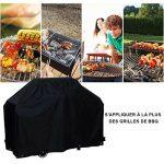 Housse pour Barbecue BBQ cover 170x65x115cm wagon Grill à gaz Housse protection Jardin Patio Contre Pluie Poussière UV, Anti-UV/Anti-l'eau/Anti-l'humidi TOP 6 image 1 produit