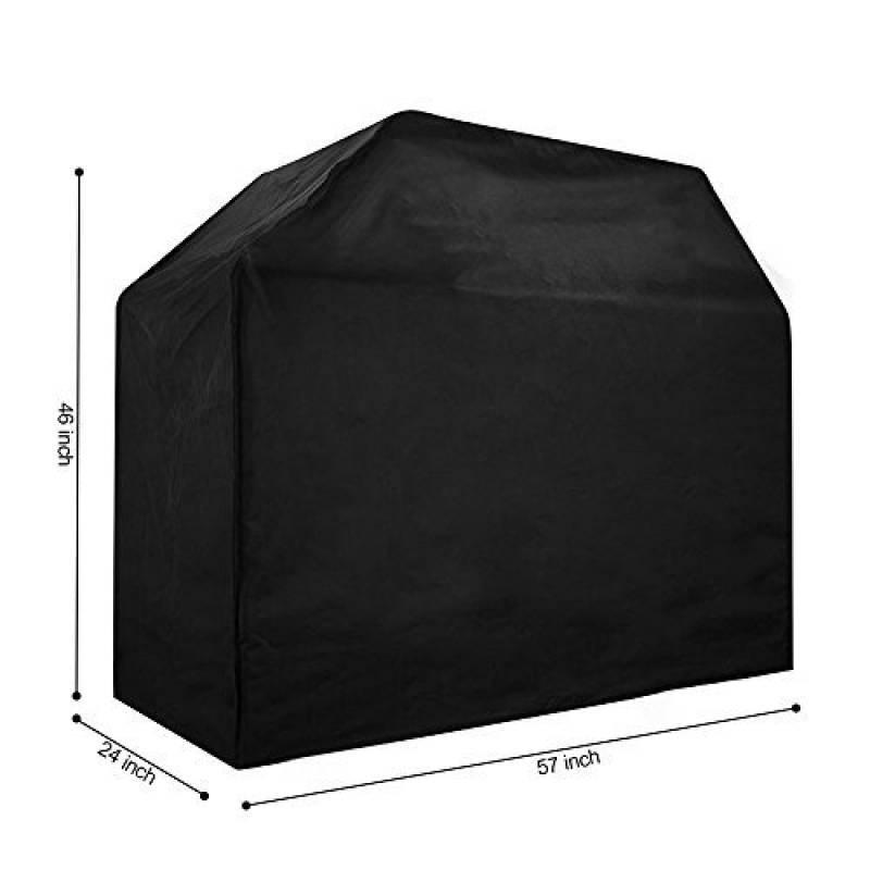 [Housse pour Barbecue] Luxebell 145x61x117 Housse Protection BBQ/Couverture de Gril Anti-Poussière Anti-UV Anti-Pluie en Polyester Noir de la marque Luxebell TOP 2 image 0 produit