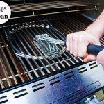 iRegro Brosse pour barbecue 3 en 1, 360 ° de nettoyage, poignée de l'isolation thermique PP, longue durée de tissage en acier inoxydable soies de fil, netto TOP 2 image 3 produit