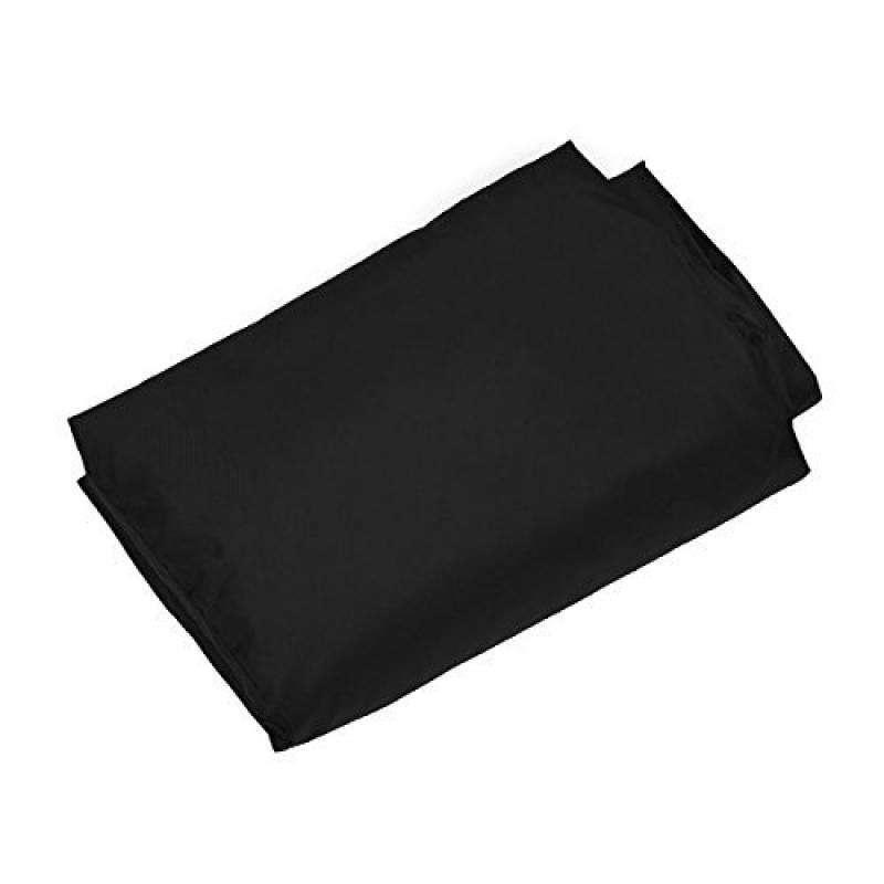 MPTECK @ Noir Housse Protection Cover Barbecue Protecteur pour Barbecue BBQ Grill à Gaz pour Jardin Patio Contre Pluie Poussière UV Rainproof antipoussière Suns TOP 1 image 0 produit