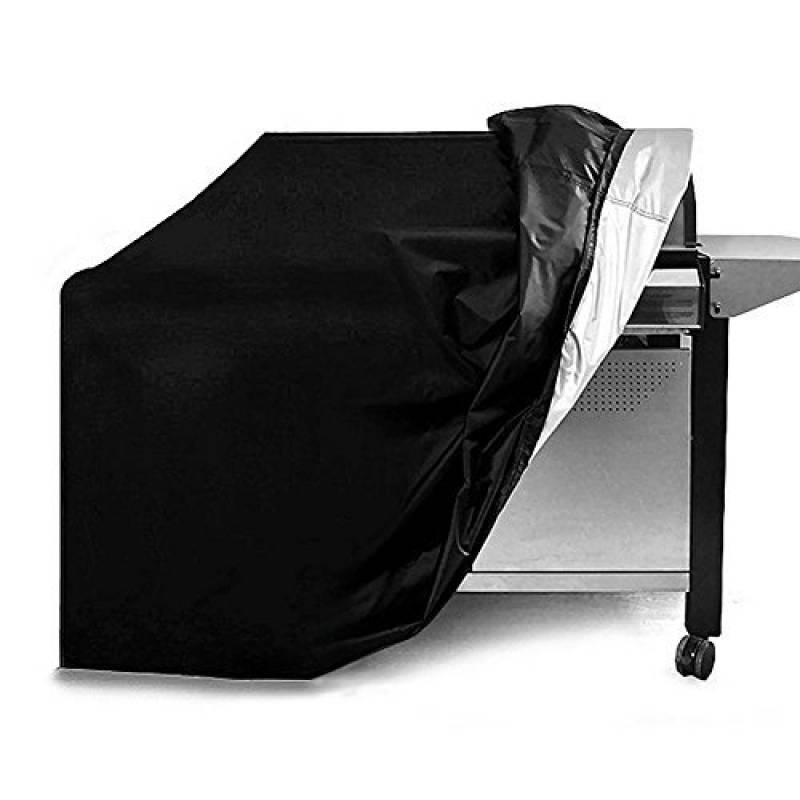 Pawaca Housse Barbecue Couverture de Gril Gaz (145x61x117cm), Anti-UV/Anti-l'eau/Anti-l'humidité Bâche Protection BBQ, pour Weber, Holland, JennAir, Bri TOP 8 image 0 produit