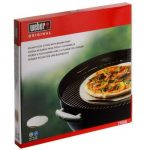 Pierre à pizza ronde Weber - Pour barbecue à charbon de la marque Weber TOP 4 image 1 produit
