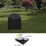 Siminliu Housse de Protection Barbecue ,Barbecue Couverture, capot | Bonne Étui étanche Outdoor, compatible avec barbecue Cover | 77 * 58 cm – Noir de la marque TOP 3 image 2 produit