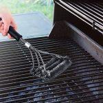 Topop Brosse barbecue. Poils en acier inoxydable, Taille de 45cm idéal pour les barbecues de la marque Topop TOP 1 image 2 produit