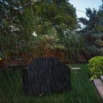 Xiliy Housse de Protection Barbecue Bâche Barbecue Imperméable Epaisse Anti-UV Anti-poussière Anti-humidité en Polyester avec Sac de Rangement Noir(145 x 61 x 1 TOP 8 image 1 produit