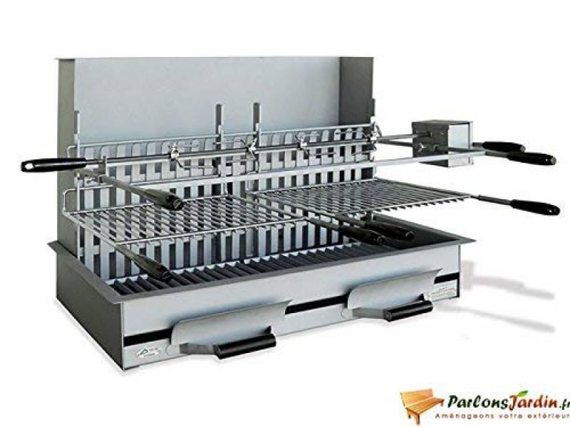 Barbecue grillade à charbon en acier Perpignan de la marque Delta TOP 7 image 0 produit
