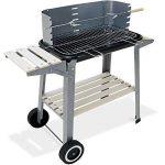 Barbecue mobile 55x35cm - BBQ avec roues Grill Plan de travail - Jardin Camping de la marque Deuba TOP 7 image 0 produit