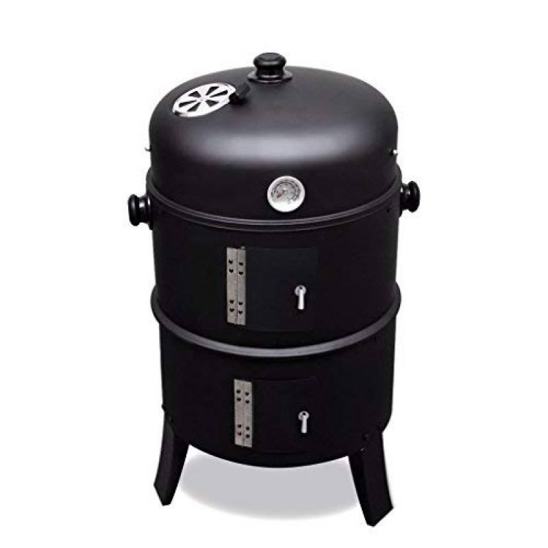 Festnight Barbecue BBQ Rond Américain en Fer Mode de Bois ou Charbon de la marque Festnight TOP 3 image 0 produit