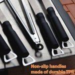 Flamen BBQ Set de 5pcs en acier inoxydable - Accessoire Barbecue Résistant à la Chaleur de la marque Flamen TOP 8 image 1 produit
