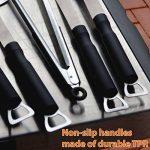 Flamen BBQ Set de 5pcs en acier inoxydable - Accessoire Barbecue Résistant à la Chaleur de la marque Flamen TOP 9 image 1 produit