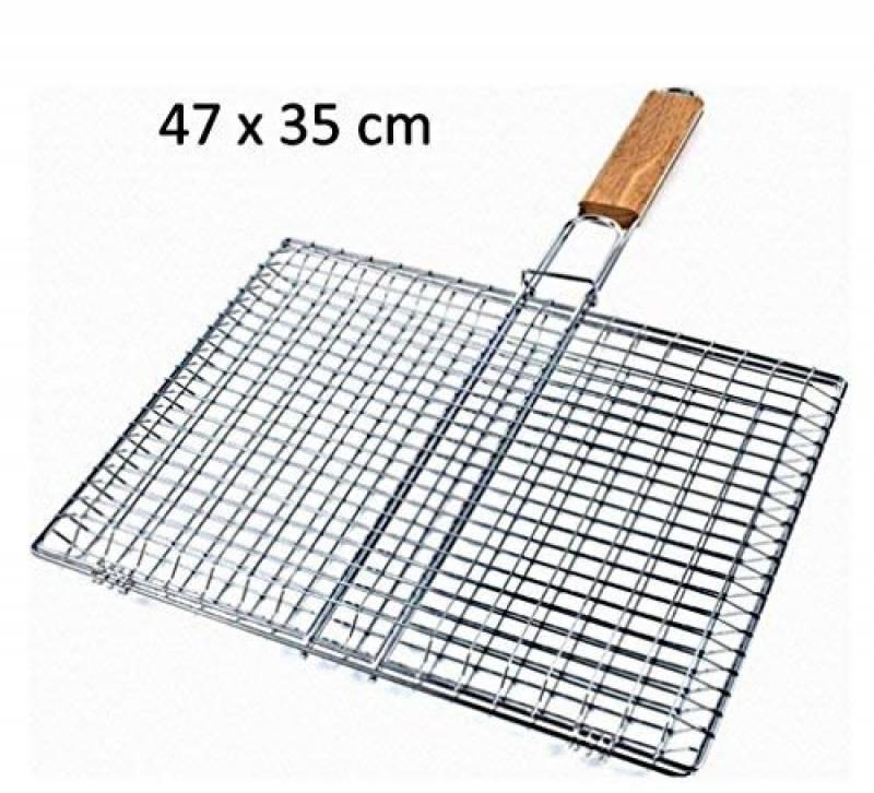 GRANDE GRILLE A BARBECUE RECTANGULAIRE 47 X 35 CM METAL CUISINE de la marque FMX TOP 12 image 0 produit