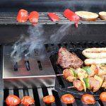 Iceberk Fumoir barbecue en inox – Donne à vos viandes et poissons une saveur fumée traditionnelle de la marque Amazy TOP 5 image 3 produit