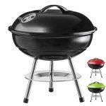 Micro BBQ Barbecue Compact barbecue au charbon de bois Barbecue de table de voyage acier inoxydable émaillé 40cm rouge de la marque Goods & Gadgets TOP 10 image 0 produit