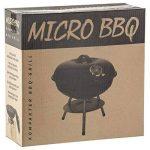 Micro BBQ Barbecue Compact barbecue au charbon de bois Barbecue de table de voyage acier inoxydable émaillé 40cm rouge de la marque Goods & Gadgets TOP 10 image 3 produit