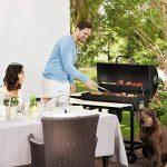 oneConcept GQ5-Beef Butler Barbecue au charbon • Barbecue à charbon pour griller et fumer • 3 grilles de cuisson chromées à différentes hauteurs • 4 ouvertures TOP 8 image 1 produit