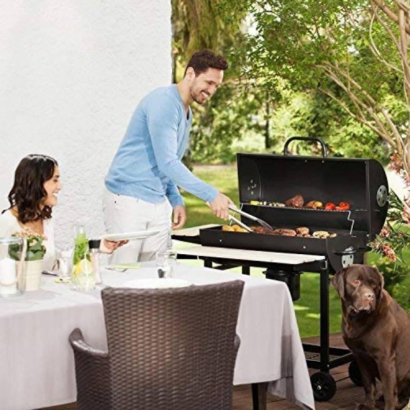 oneconcept GQ5 Beefbutler Smoker grill charbon de bois