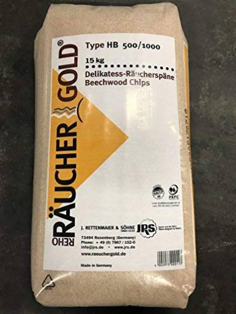 Räuchergold HB 500-1000 Rettenmaier Sciure de fumage fine en bois de hêtre 0,5-1 mm 15 kg de la marque Räuchergold TOP 4 image 0 produit