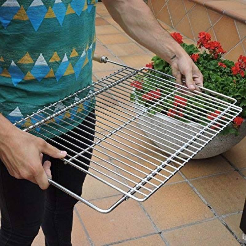 Grille de barbecue 62 x 31 cm, grille de cuisson en métal, achat