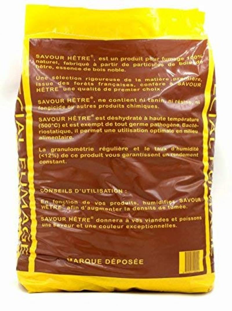 Sciure de hêtre 60 litres 15 kg bois de fumée 0,4-1,0 mm Terra Exotica