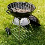 TecTake Barbecue à charbon de bois rond avec couvercle, roues et poignée de la marque TecTake TOP 5 image 3 produit