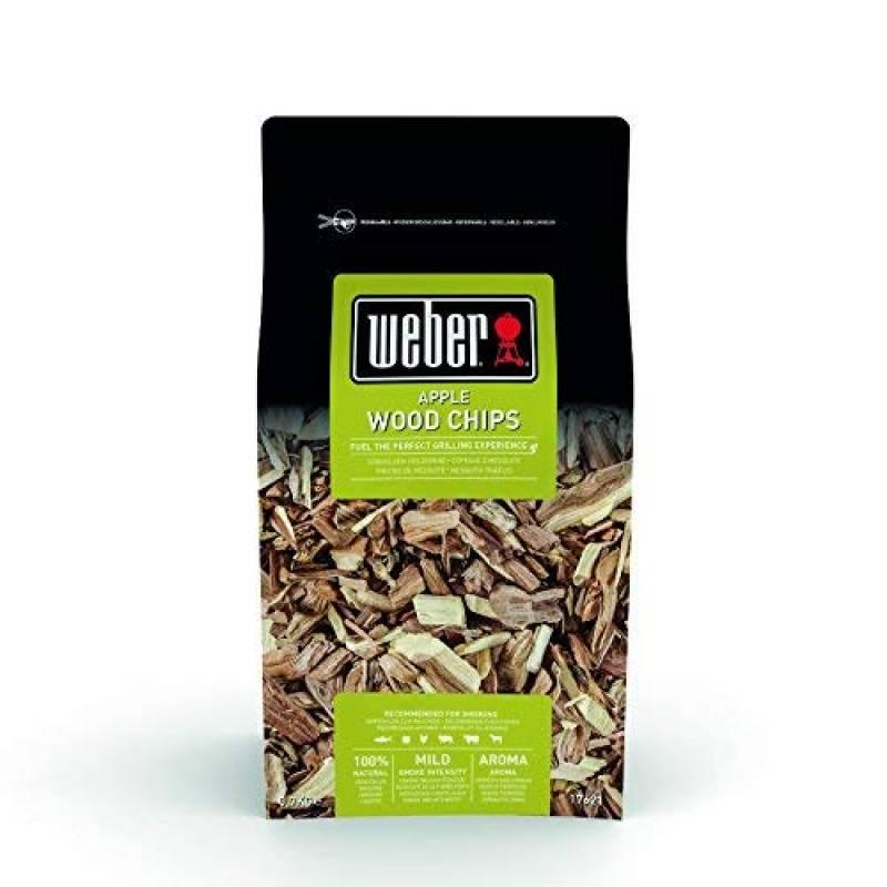 Weber de fumage Pomme bois marron, 17,8x 8,9x 30,5cm, 17621 de la marque Weber TOP 5 image 0 produit