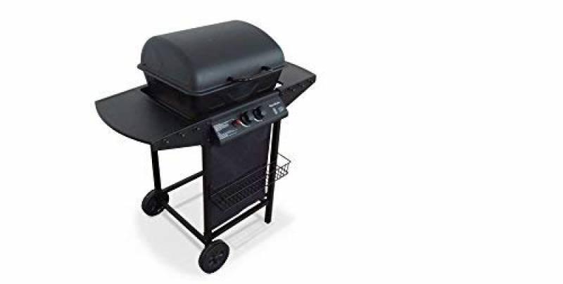 Alice's Garden - Barbecue au gaz - Aramis - Cuisine extérieure 2 brûleurs avec tablettes latérales et thermomètre de la marque Alice's Garden TOP 5 image 0 produit