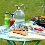 Couverts à barbecue en acier inoxydable avec coffret en aluminium, 5 pièces de la marque Rosenstein & Söhne TOP 12 image 2 produit