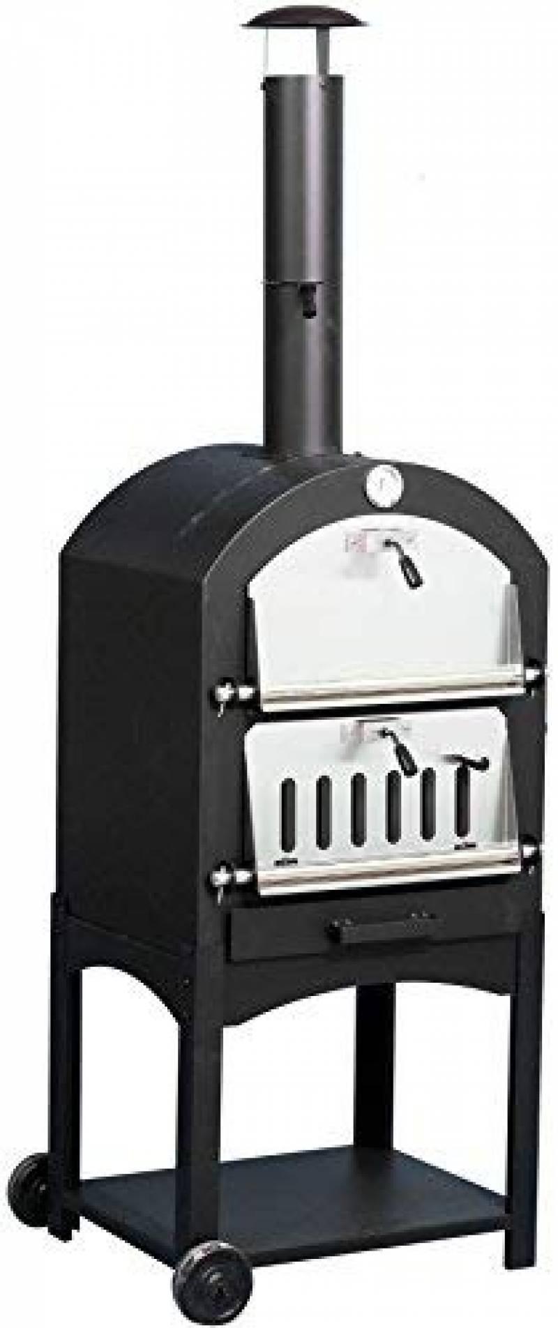 El Fuego Four à pizza Napoli, noir de la marque El Fuego TOP 13 image 0 produit