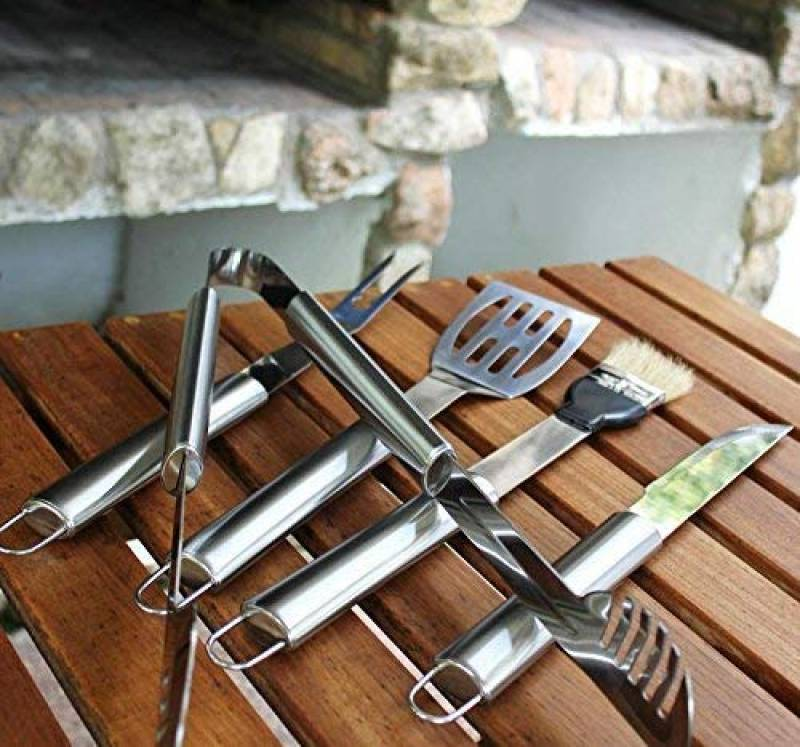 Electrolux ustensile cuisson barbecue inox qualité ensemble + coffret présentation luxe de la marque Electrolux TOP 6 image 0 produit