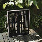 Flamen Lot de 14 outils en acier inoxydable pour barbecue. de la marque Flamen TOP 3 image 1 produit