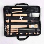 Holzsammlung® Set de 10 couverts à barbecue en acier inoxydable dans sa valise de la marque Holzsammlung TOP 2 image 0 produit