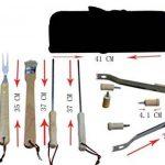 Holzsammlung® Set de 10 couverts à barbecue en acier inoxydable dans sa valise de la marque Holzsammlung TOP 2 image 1 produit