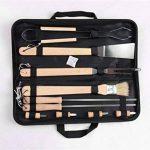 Holzsammlung® Set de 10 couverts à barbecue en acier inoxydable dans sa valise de la marque Holzsammlung TOP 8 image 0 produit