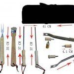 Holzsammlung® Set de 10 couverts à barbecue en acier inoxydable dans sa valise de la marque Holzsammlung TOP 8 image 1 produit