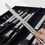 Holzsammlung® Set de 24 couverts à barbecue en acier inoxydable dans sa valise en alu de la marque Holzsammlung TOP 1 image 1 produit