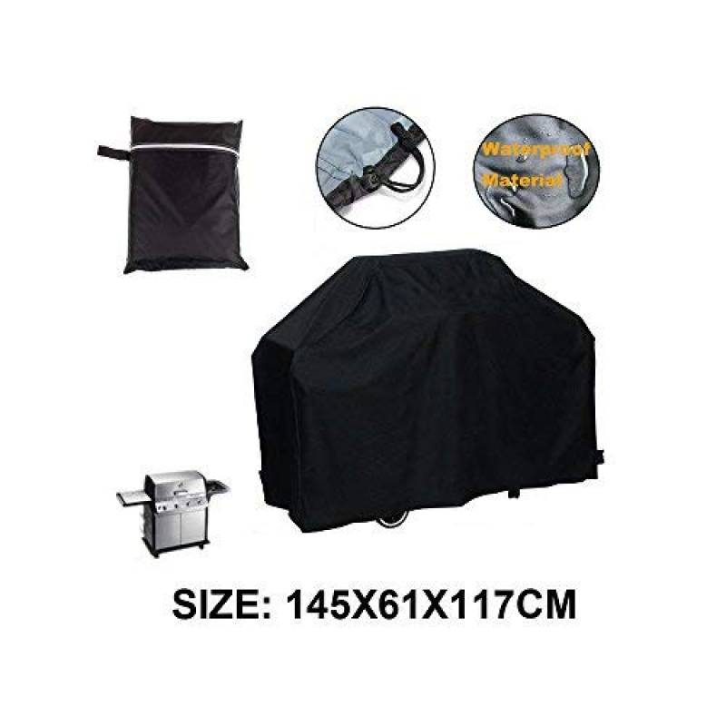 Housse de barbecue LU2000 Housse de barbecue extérieure Résistant aux UV et anti-poussière Protection réduite Small Size-Black de la marque LU2000 TOP 9 image 0 produit