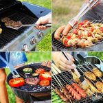 Kit Ustensiles Barbecue, Discoball en acier inoxydable Lot de 9 outils pour barbecue grillade avec mallette aluminium de la marque discoball TOP 1 image 2 produit