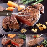 Kit Ustensiles Barbecue, en acier inoxydable - avec mallette, 4 pièces, 12 mois de garantie de la marque Blusmart TOP 2 image 1 produit