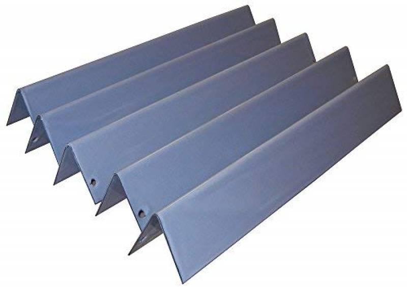 Music City Metals 93025 Set d'angles chauffants en acier émaillé pour les grills à gaz de la marque Weber Noir - (5 pièces) de la marque Music City Metals TOP 5 image 0 produit