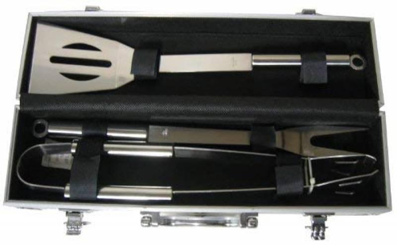 Pradel Excellence - WB109 - Valise Barbecue Métal : 1 Spatule + 1 Fourchette + 1 Pince de la marque Pradel Excellence TOP 4 image 0 produit
