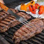 sunjas 18 pièces Set de barbecue set couverts Outdoor, barbecue, barbecue set de barbecue Barbecue, Fourchette,Brosse, Pinceau, pince, spatule, Ventilateur Souf TOP 8 image 3 produit