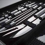 TecTake Kit 25 pièces accessoires et couverts Gril-Barbecue BBQ en acier inoxydable avec mallette argenté de la marque TecTake TOP 4 image 2 produit