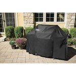 WEBER-STEPHEN PRODUCTS Genesis 300 Grill Cover, Black Polyester de la marque Weber TOP 13 image 1 produit
